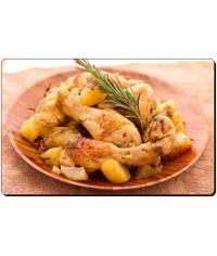 Курица по-деревенски с картофелем
