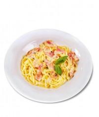 Спагетти с мясом и рисом